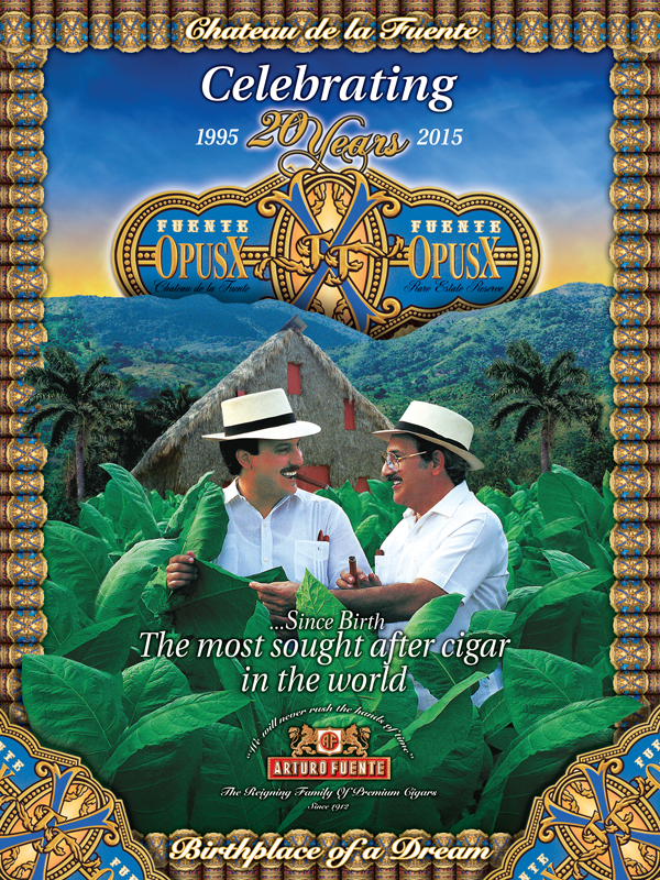 Fuente Fuente Opus X – Celebrating 20 years