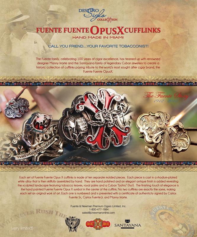 Fuente Fuente Opus X Cufflinks