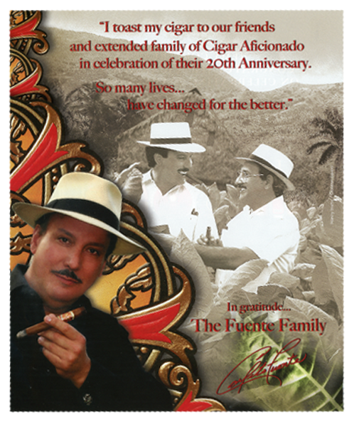 Cigar Aficionado – 20th Anniversary