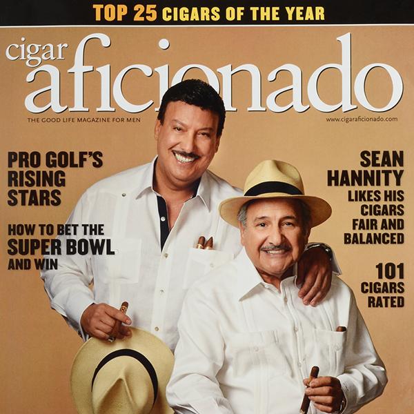 Cover of Cigar Aficionado
